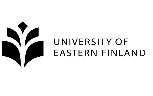University of Eastern Finland logo eli UEF logo ja kyseinen teksti.